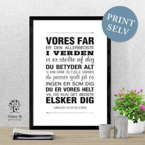 personlig-print-vores-far-print-selv