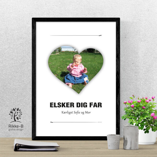 personlig-print-elsker-dig-far-eget-foto-A