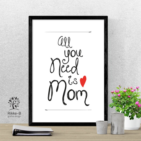 personlig-print-all-you-need-is-mom