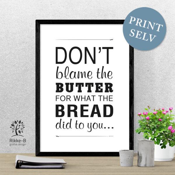 Dont-blame-the-butter-Rikke-B-grafisk_lchf_plakat